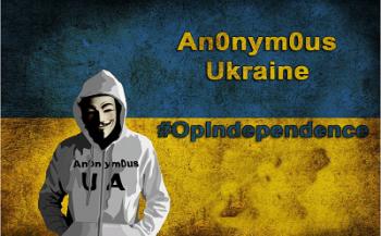 Хакеры защищают независимость Украины