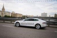 «Яндекс» купил два электромобиля Tesla для сервиса «Яндекс.Такси»