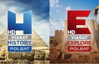 Телеканалы Polsat Viasat Explore и Polsat Viasat History переходят на вещание в HD