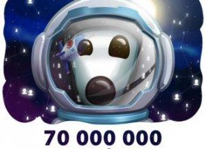 Посещаемость «ВКонтакте» достигла 70 млн в сутки