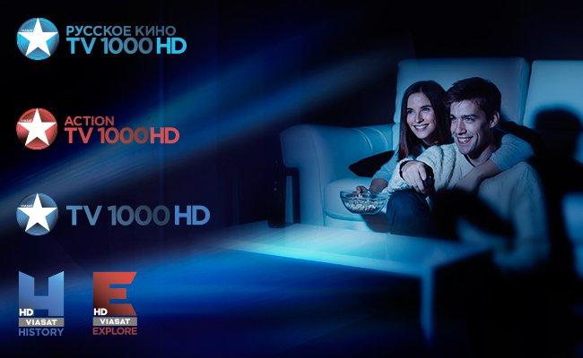Viasat запустил в России HD-версии пяти флагманских телеканалов