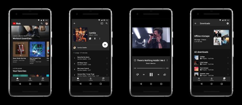 YouTube запускает собственный музыкальный сервис YouTube Music
