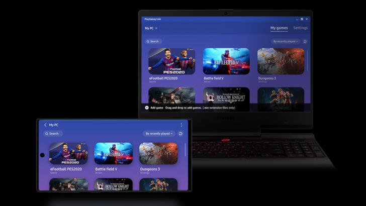 Samsung запустила сервис PlayGalaxy Link, позволяющий играть на смартфоне в игры для ПК (видео)