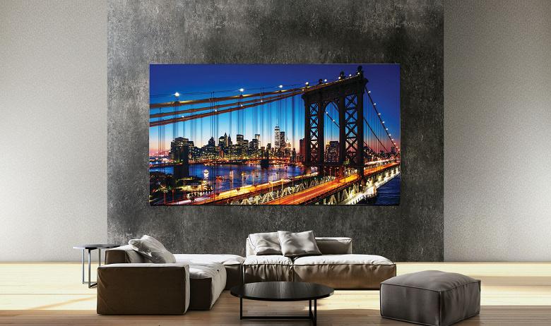 Samsung представила практически безрамочные телевизоры MicroLED