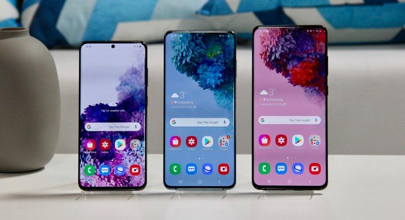Samsung представила смартфоны Galaxy S20, S20+ и S20 Ultra. Все с 5G