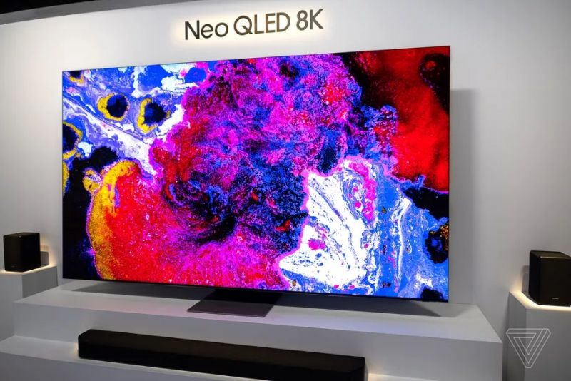 Samsung представила телевизоры серии Neo QLED