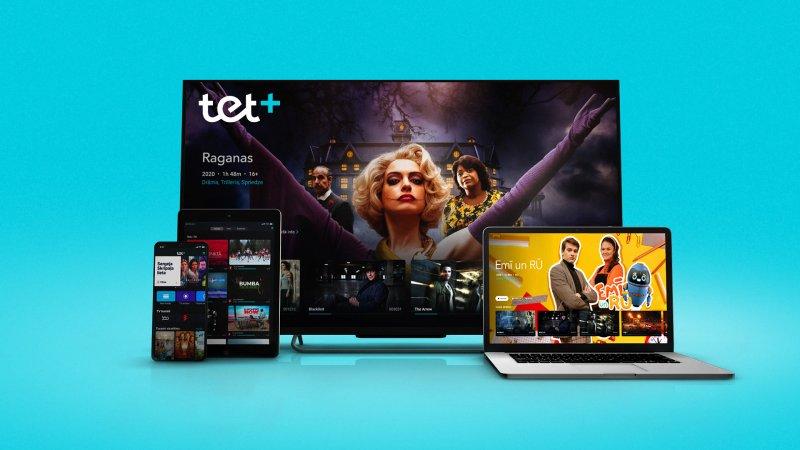 В Латвии начала работу телевизионная платформа Tet+